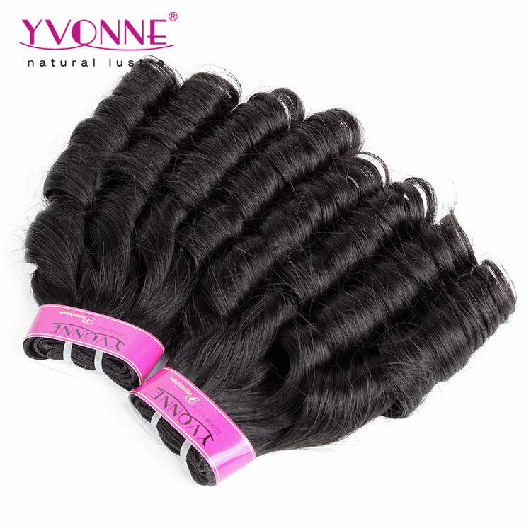 China Candy Curl Brazilian Human Hair Extension China Hair
