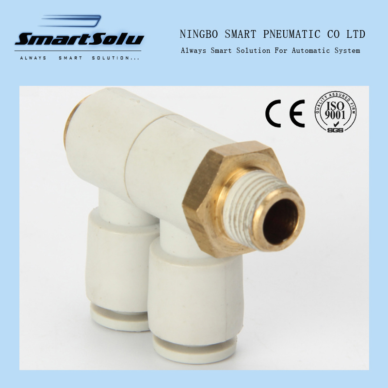 SMC Style Kq2vd Series Push in One Touch Pneumatic Fittings pictures & photos