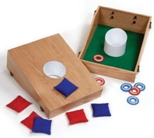 The Washer And Bean Bag Toss Set
