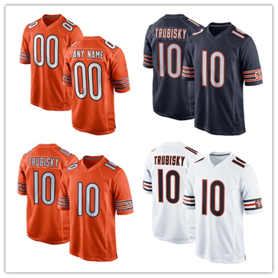 huge discount ba528 49531 [Hot Item] Men Women Youth Bears Jerseys 10 Mitchell Trubisky Football  Jerseys