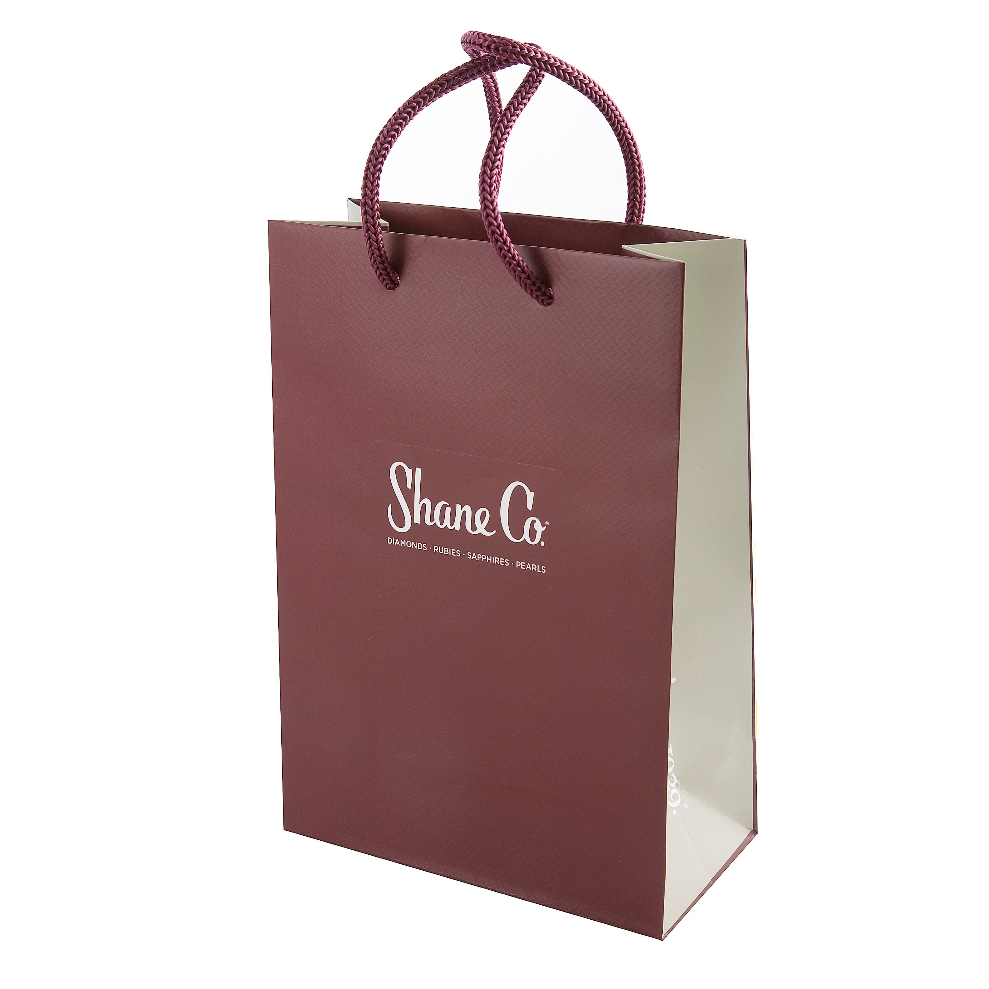 Hot Item High Quany Ping Paper Bag For Clothing Custom Design Printing End