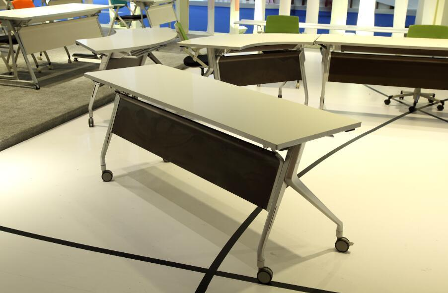 From Foshan Hongji Brand New Office Folding Training Table pictures & photos