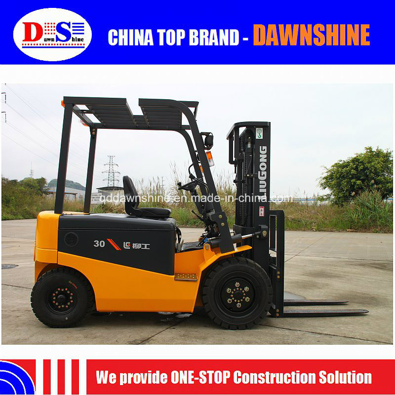 [Hot Item] Liugong Clg2030A-S with Curtis Controllers Electric Forklift  Price 3 Ton