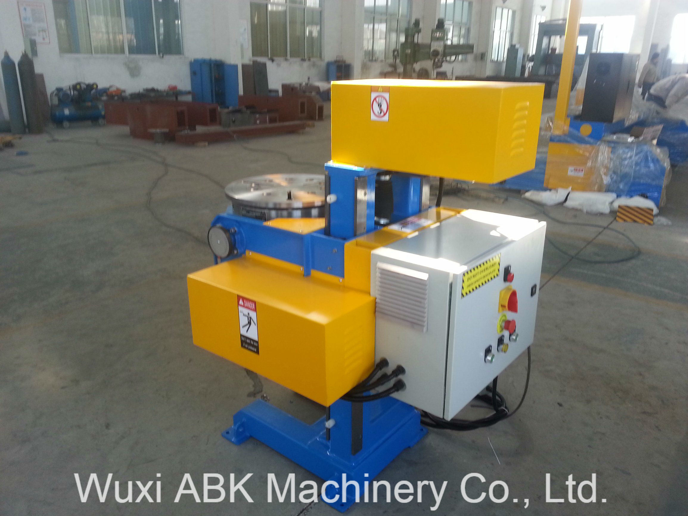 Welding Table For Sale >> Hot Item Hbj 50 Flipping Rotating Automatic Welding Table Welding Positioners For Sale