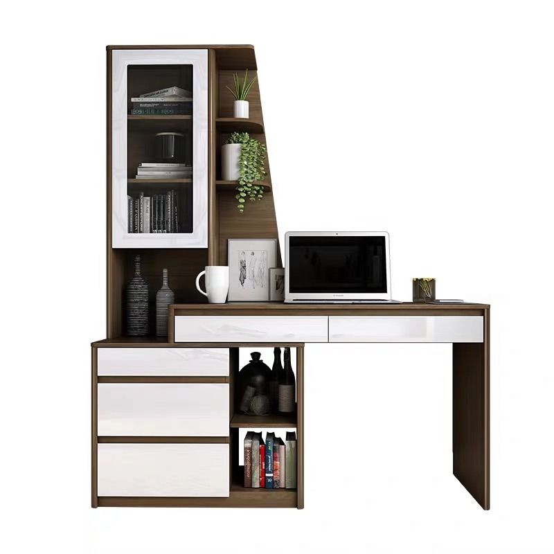 China Modern Home Hotel Bedroom Living Room Dresser Standing Wooden Computer Desk China Dressing Table Wooden Dresser