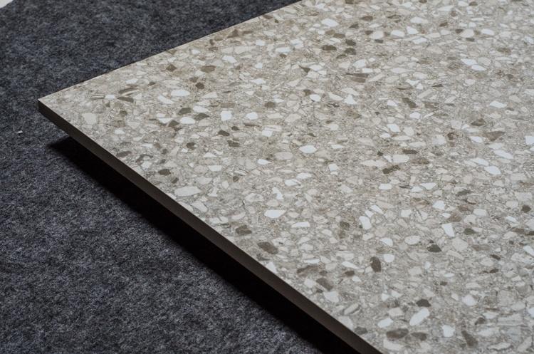 China Bathroom Place Textured Ceramic Floor Terrazzo Tile