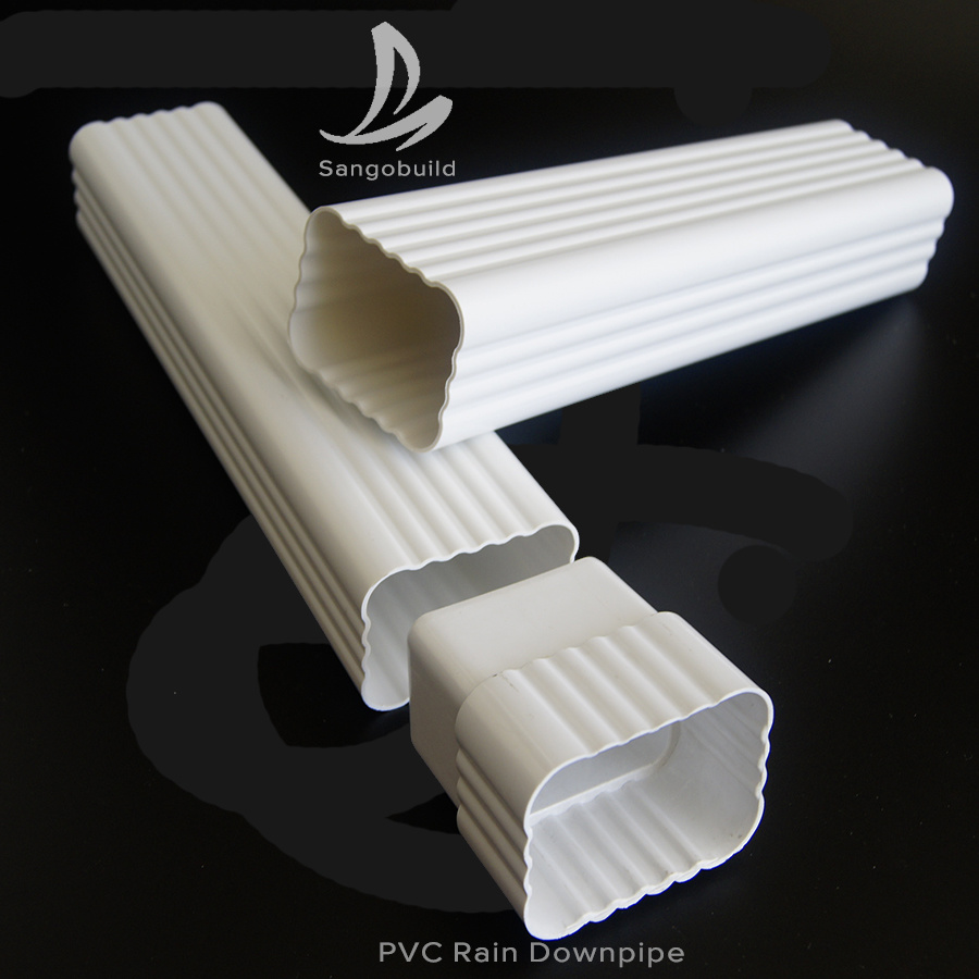 China Cheap Drainage System 5 2inch Downspout Dual Wall