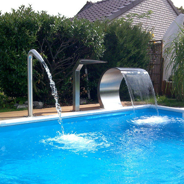 [Hot Item] SPA Equipments Outdoor Decoration Fountain Swimming Pool  Waterfall