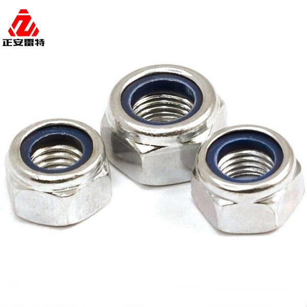 Nyloc 10Pcs M2 M3 M4 M5 Nylon Insert Self-Lock Nuts Hex Lock Nut Aluminum