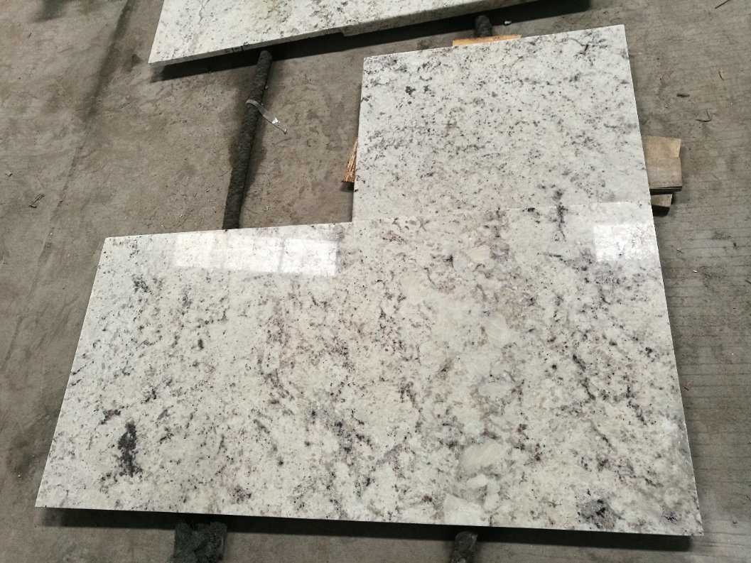 China Colonial White Granite Countertops From Xiamen Yeyang Photos Pictures Made In China Com
