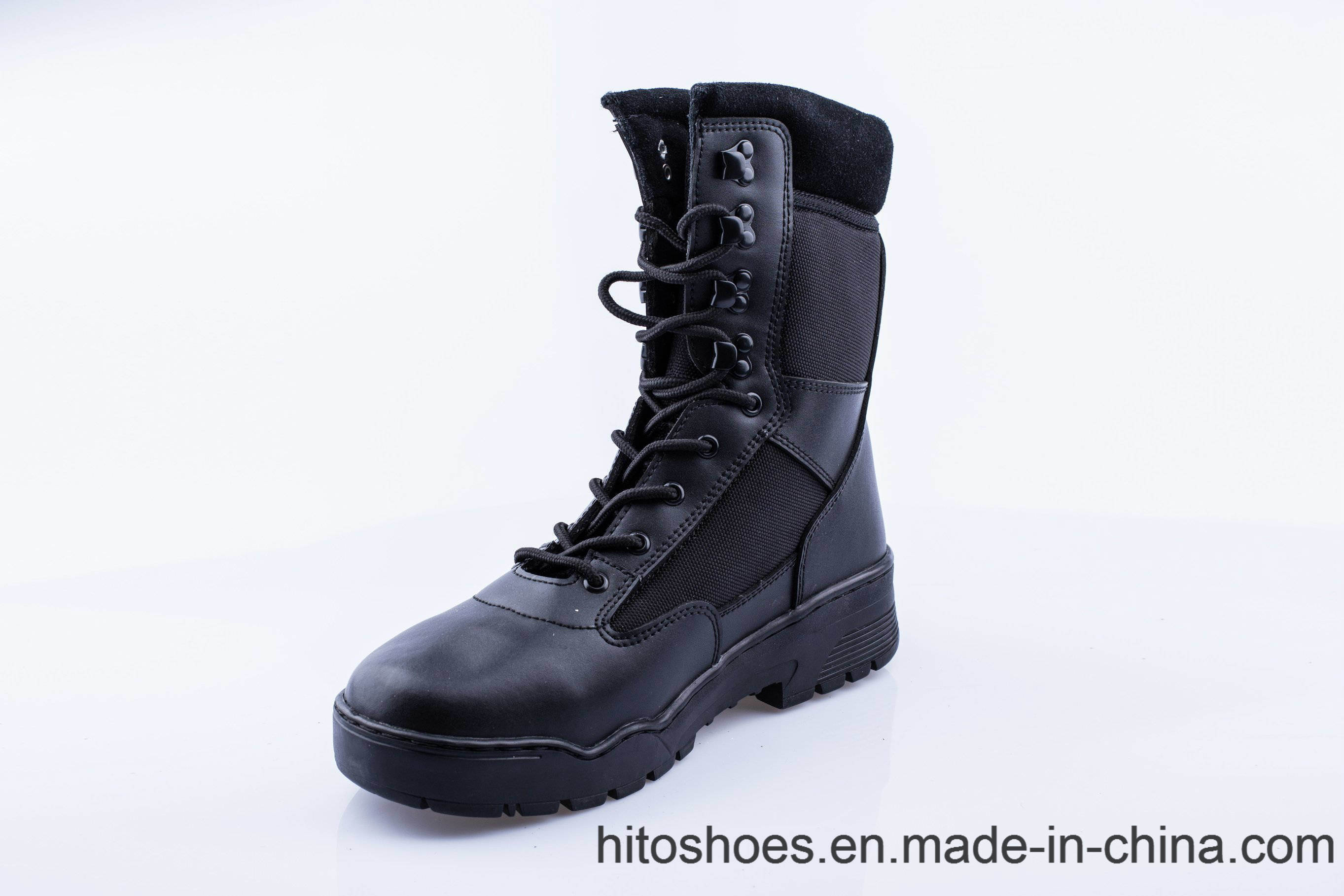 Work Boots Safety Shoes Half Knee Boot