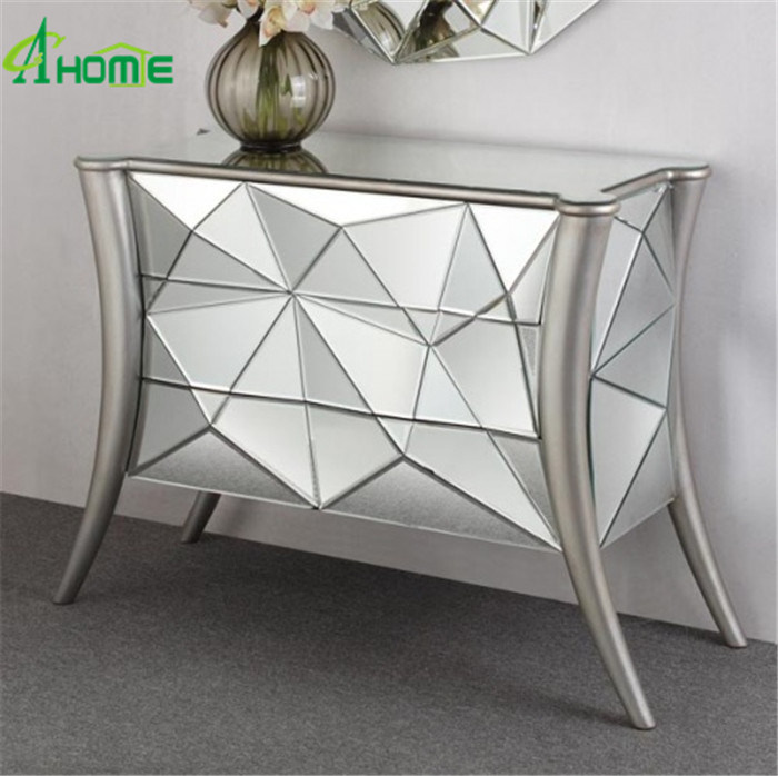 Hot Item Modern Living Room Mirror Furniture Tables Shabby Chic Console Table