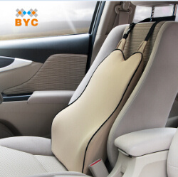 Hot Item Bychigh Density 70d Memory Foam Lumbar Support Cushion Car Seat Back Support
