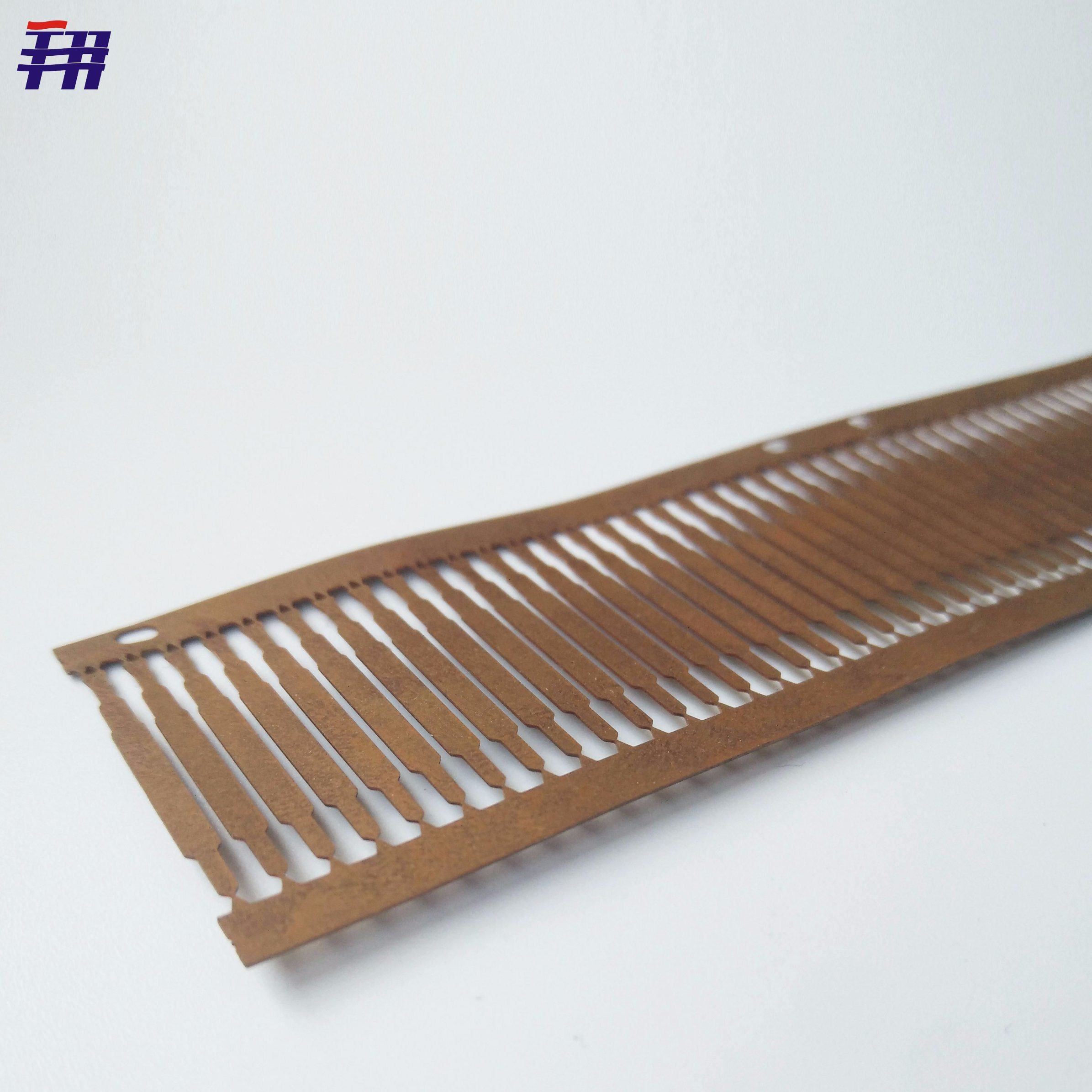 [Hot Item] OEM Custom Etching Gold Plated Semiconductor SMD LED Copper Lead  Frame with 0.2mm Thickness