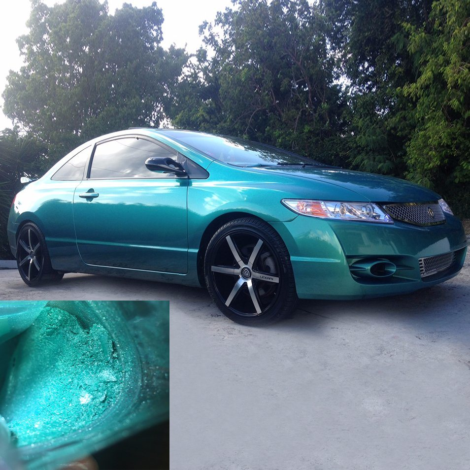 Pearlescent Car Paint >> Hot Item Blue Pearl Car Paint Pearl Pigments Factory Sale Car Coating Mica Powder