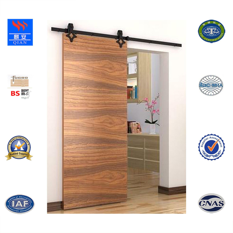 China Sl Vv 001 2018 New Product Sliding Solid Wood Interior Door
