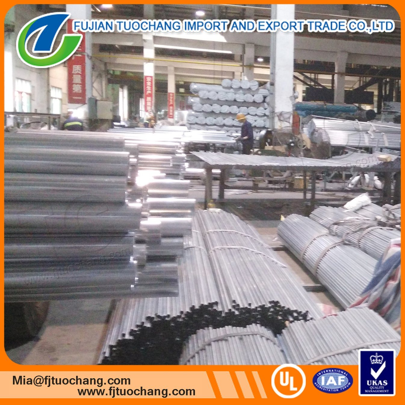 China Factory Outlet Electrical Metallic Tubing Hot Galvanized Steel ...