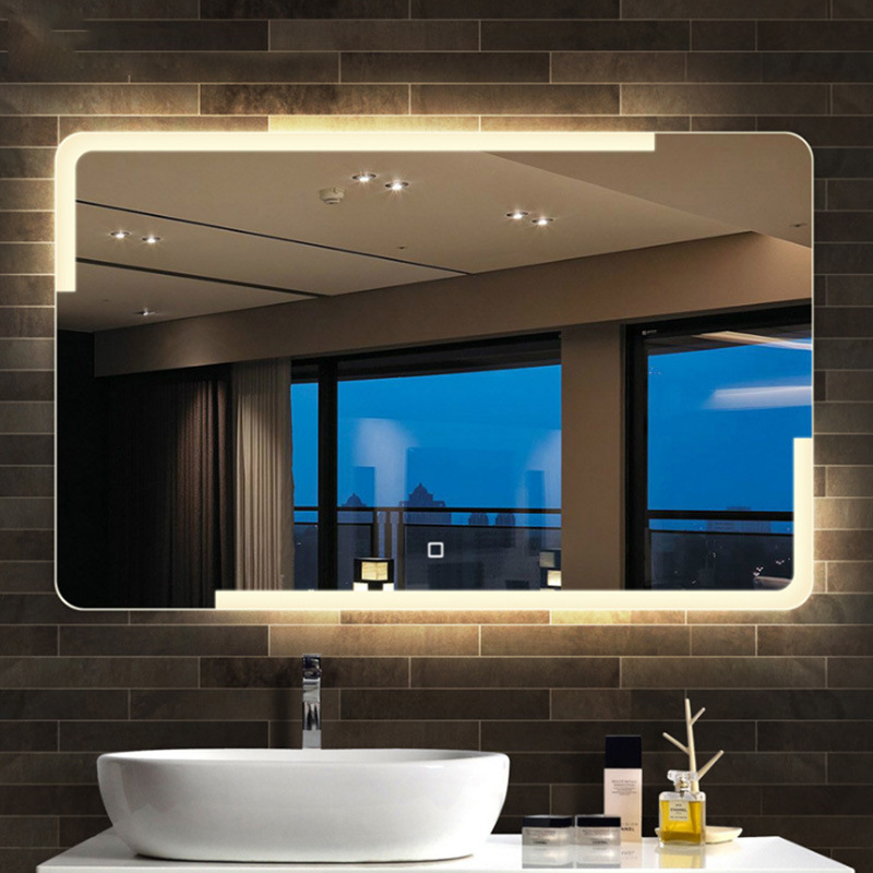 China Hot Customized Modern, How To Attach A Mirror Bathroom Wall
