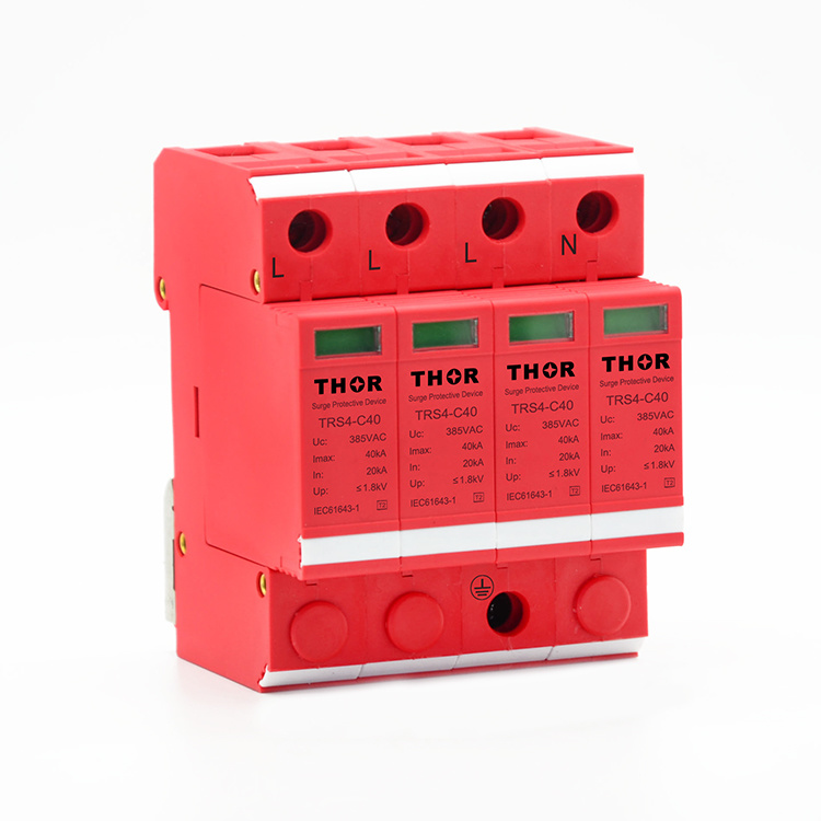 Lightning Surge Protector 40ka Power Surge Protector Tvss pictures & photos