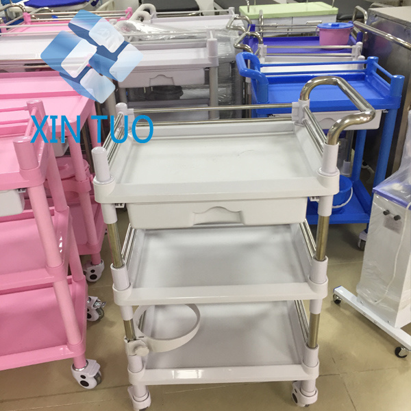 Factory Direct Price Hospital Medical Treatment /Therapy Trolley/Cart
