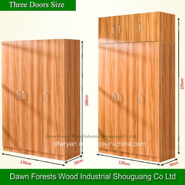 [Hot Item] No Folded and Melamine Panel Type Wall Mounted Wardrobe