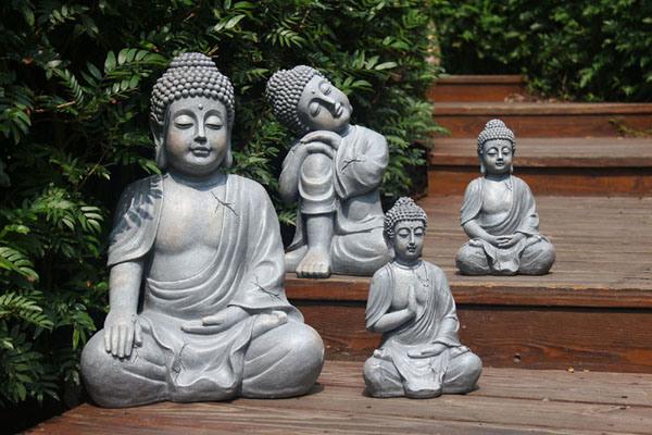 China Large Size Fiberglass Garden Buddha Statue   China Garden Buddha  Statue, Garden Statue