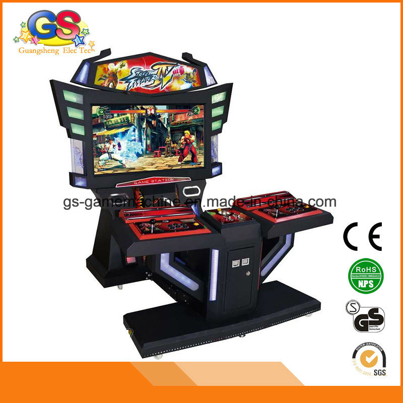 China Coin Pusher 3D 4D Video Games Tekken 3 Arcade Machine