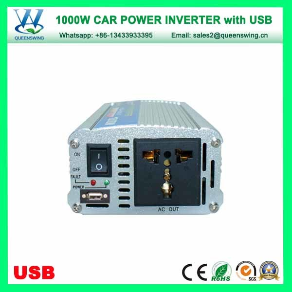 Portable 1000W Car Solar Power Inverter with USB (QW-1000MUSB) pictures & photos