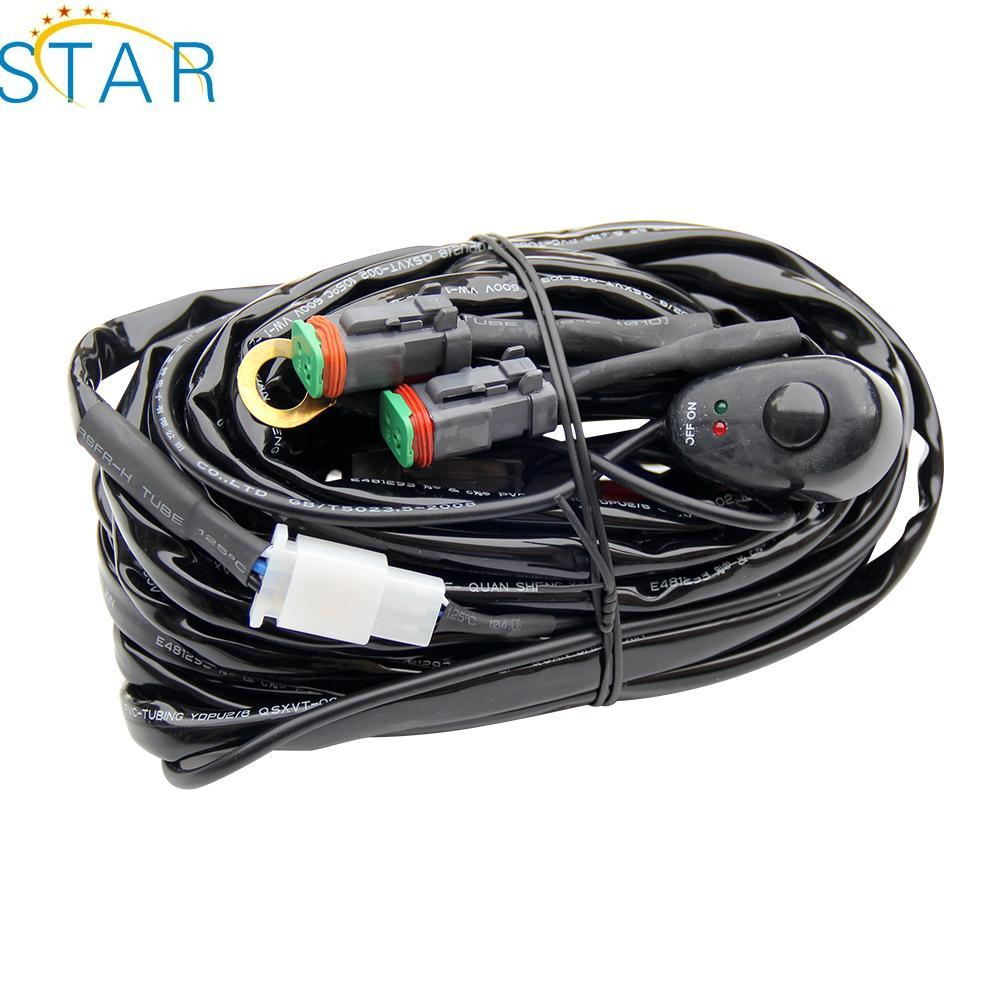 China Oemodm Rohs Compliant Led Light Bar Cable Wire Harness Ledwiringharnessmain1jpg Manufacturers Suppliers