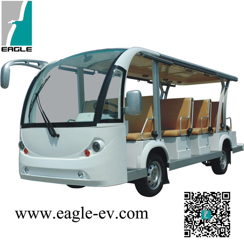 Electric Sightseeing Bus, 14 Seats, CE Approved pictures & photos