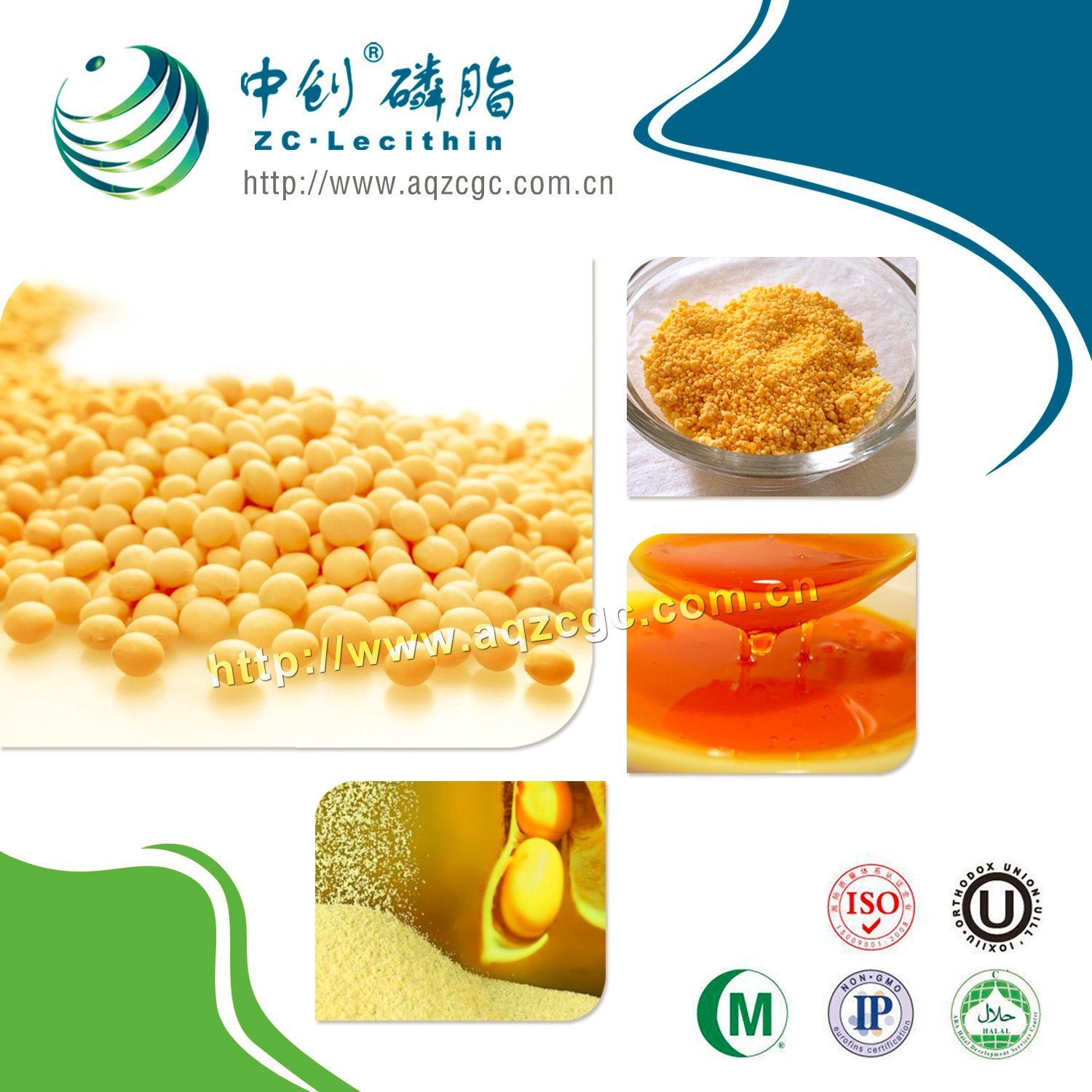 Transparent Soy Lecithin Liquid (oil soluble & water soluble) --Soya Lecithin Manufacturers/Factory