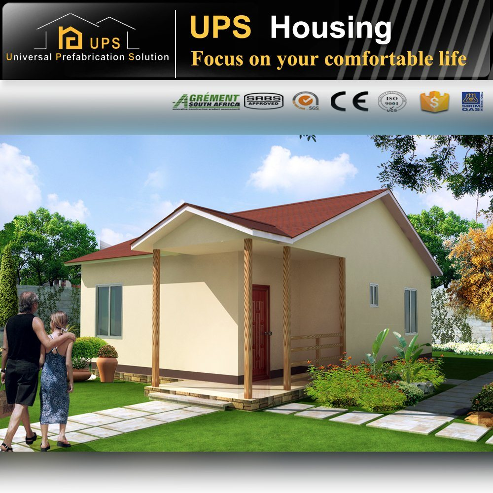 China Long Life Span One Bedroom New Design Prefabricated Light ...
