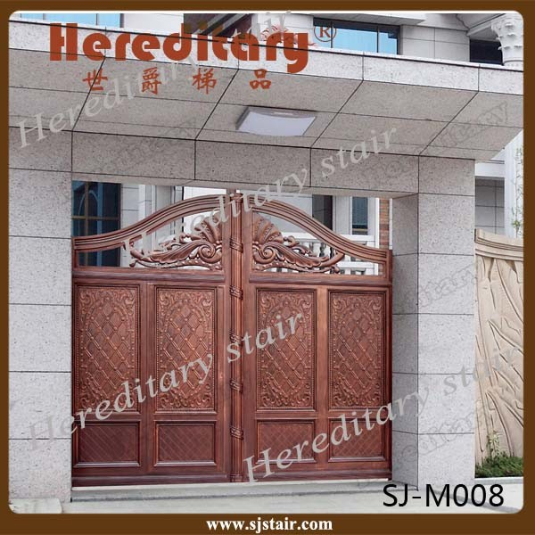 china indian house decorative automatic sliding aluminum entrance rh hereditarystair en made in china com indian house entrance gate designs indian house entrance hall design