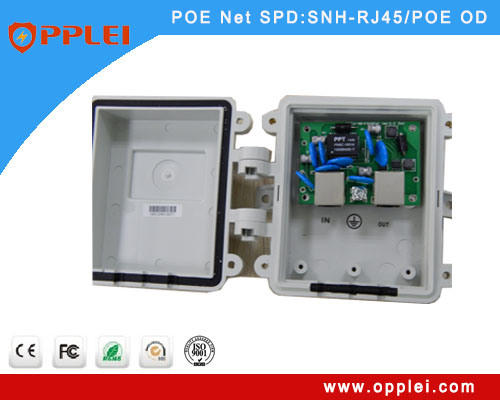 Plastic Housing IP65 Poe Surge Protector