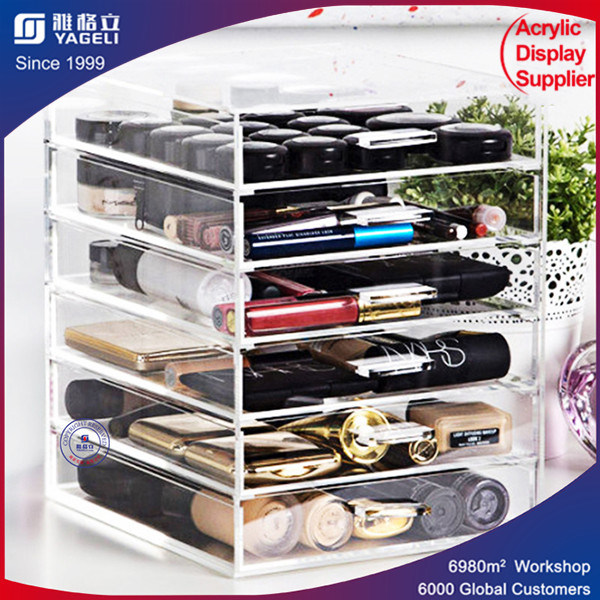 China Acrylic Cosmetic Organizer Makeup Drawers Orgaization Lipstick Stand - China Acrylic Drawers, Acrylic Cosmetic Organizer