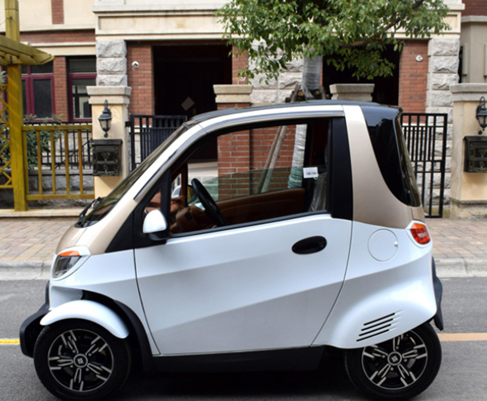 China Eec 4 Wheels 2 Seaters Mini