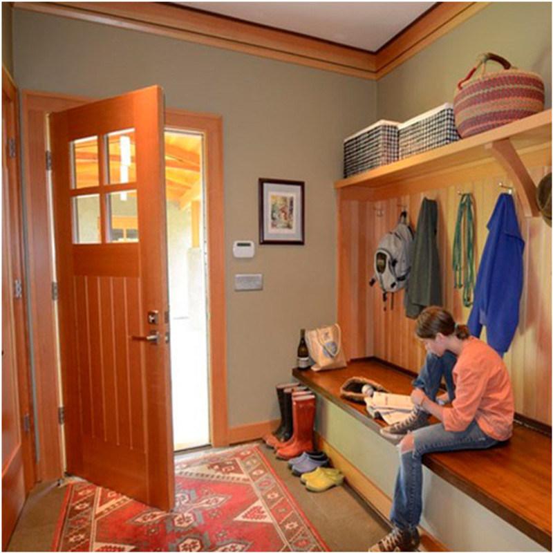 China Solid Wooden Front Door Designs Used For Interior Door Photos