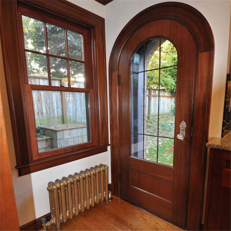 China Solid Wooden Front Door Designs Used For Interior Door China