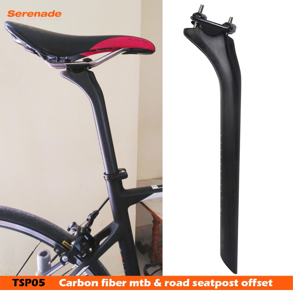 3K Carbon Fiber Mountain Bike Seatpost MTB Road Bicycle Seat post 27.2//30.8//31.6