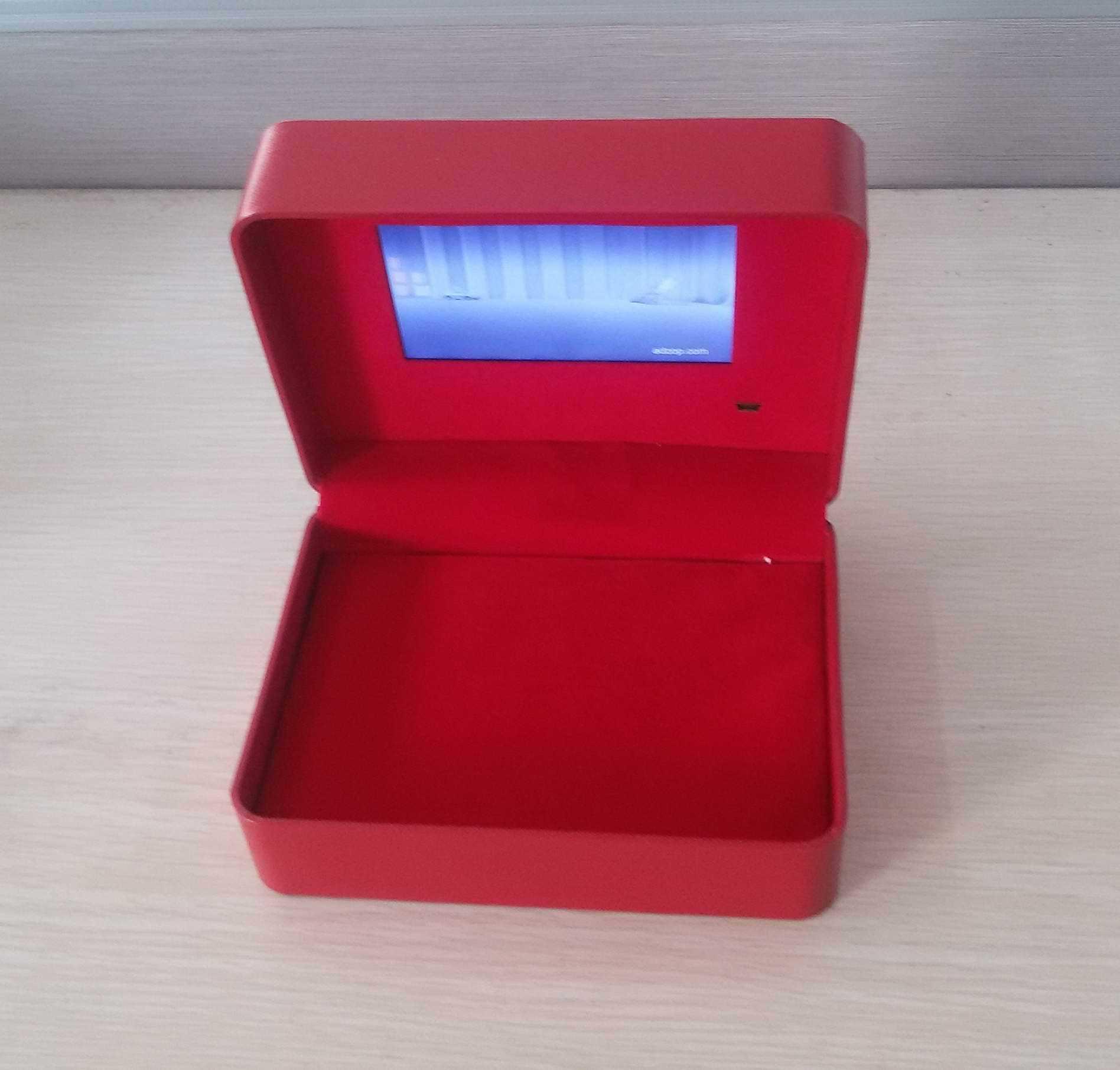 China Custom LCD Screen Video Box for Wedding Gift/Wedding ...