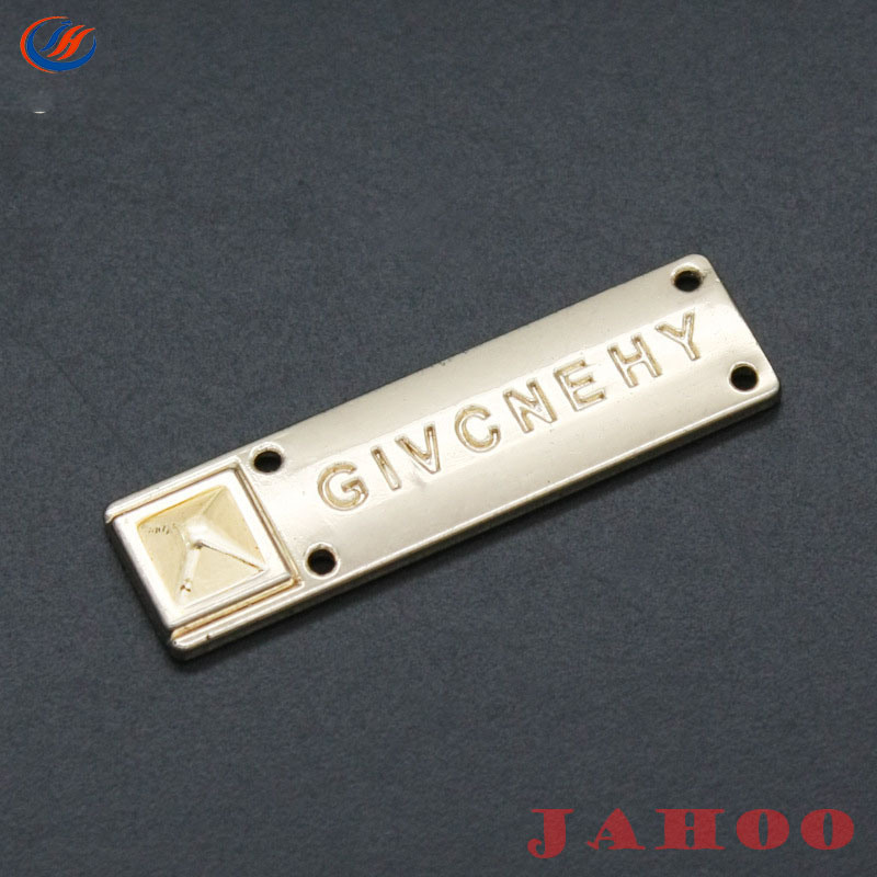 Custom Designer Clothing Tags 2mm Thickness Pasted By Several Pieces ... 58dce1a248200