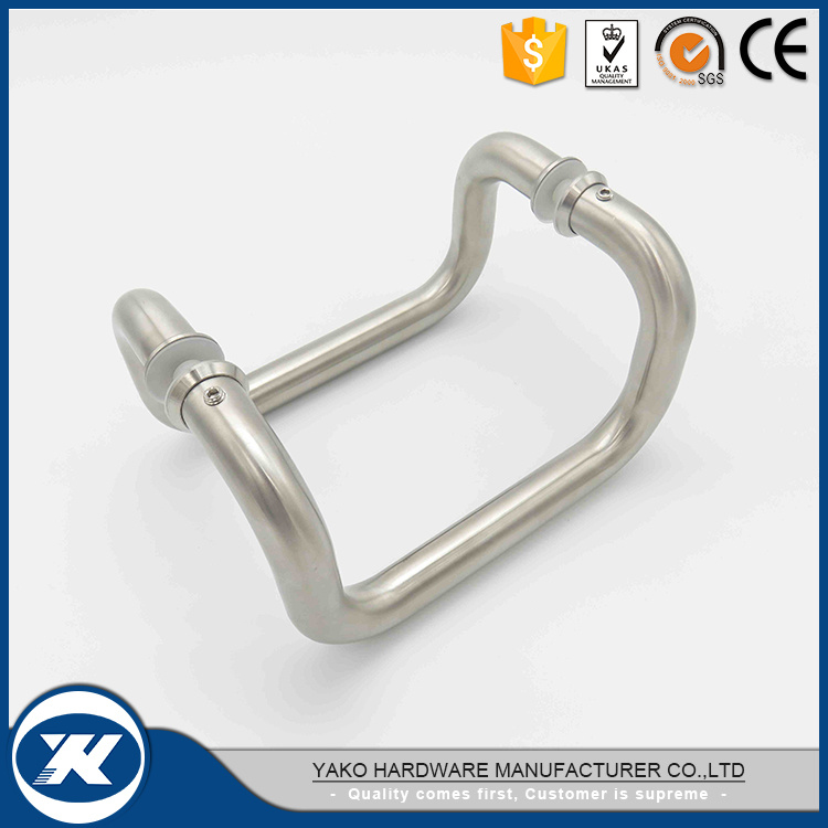 China Stainless Steel 304 Double Sided Door Pull Handle   China Handle,  Stainless Steel Pull Handle