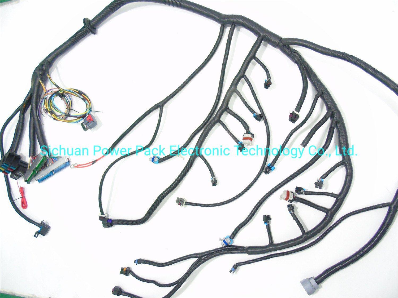 China 03 07 Vortecstandalone Wiring Harness W 4l80e Drive By Wire Dbw 4 8 5 3 6 0 China Ls1 Wire Harness Wiring Harness