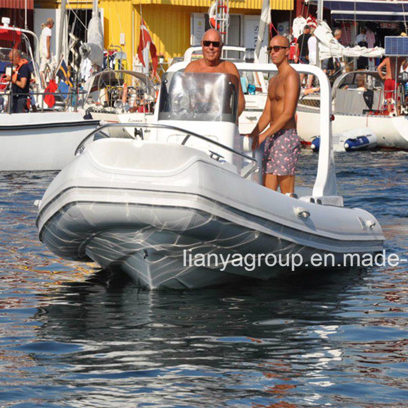 [Hot Item] Liya 19FT 10 Passenger Boat Military Rib Boats
