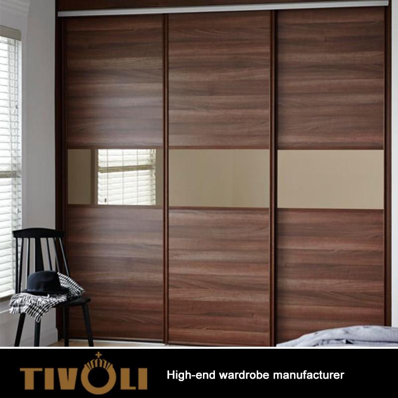 Simple Design Bedroom Wardrobe Design Custom Design Lightweight Portable Armoire  Wardrobe Closet Wooden Clothes Cabinet TV 0363