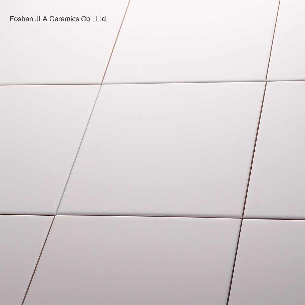 China White 8x8inch20x20cm High Gloss Floor Tile Porcellanato Floor
