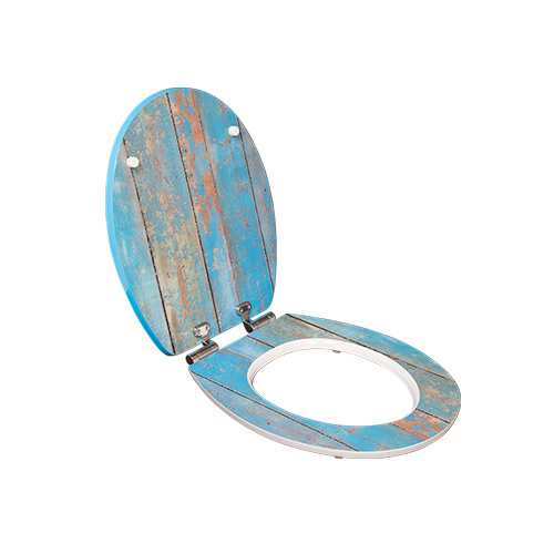 self closing toilet seat lid. Wooden E1 MDF Soft Closing Toilet Seat Lid Cover Dw 022 China