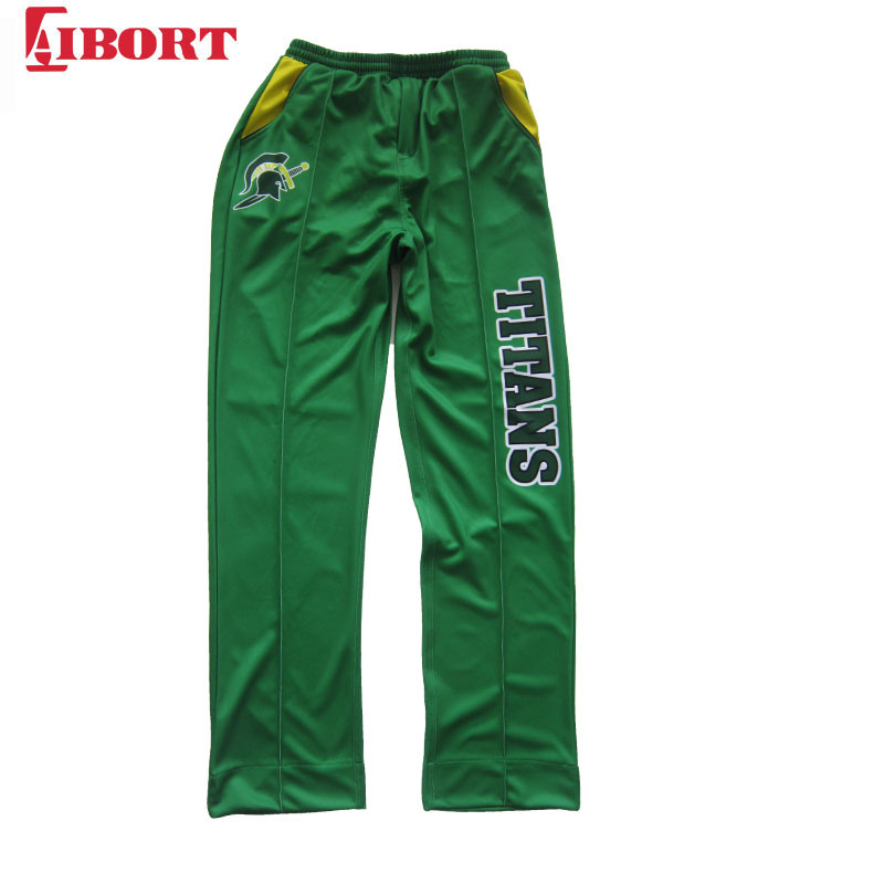 New Men Embroidered Bowls Logo Bowling Trousers Waterproof   Bottoms