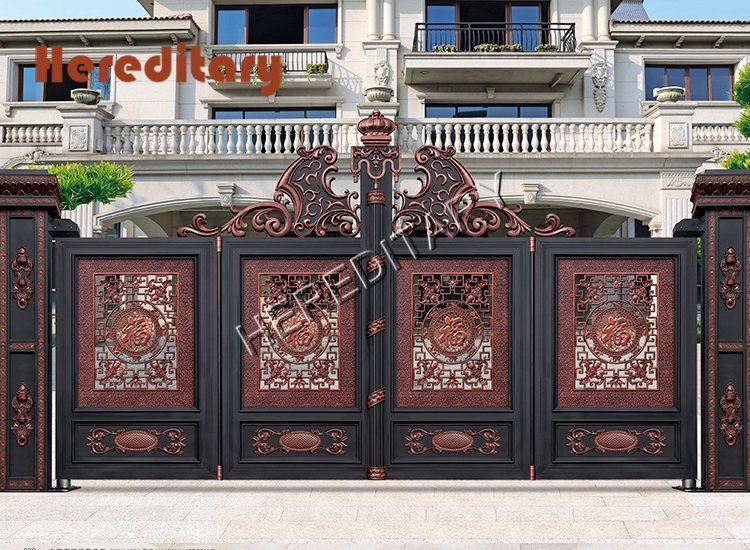 Electric Security Main Gate Designs