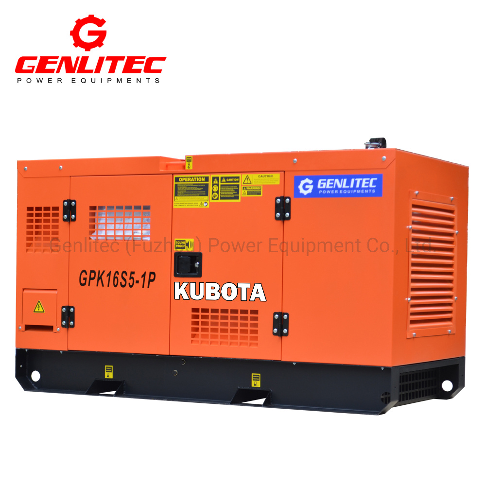 Single or 3 Phase Portable Super Silent Home Generator 10kVA 12kVA 15kVA 20kVA 25kVA 30kVA Kubota Yanmar Isuzu Diesel Genset